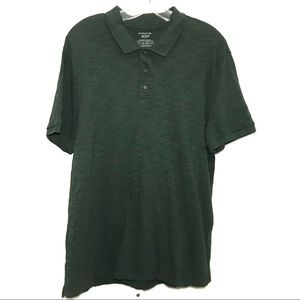 Vince Green Polo Shirt Size Large
